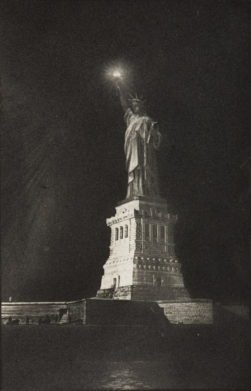 Statue of Liberty at Night Stoddard, Seneca Ray  (American, 1844-1917)