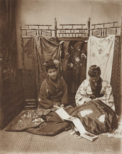 A Study in Japanese Barnes, Catherine Weed  (American, 1851-1913)