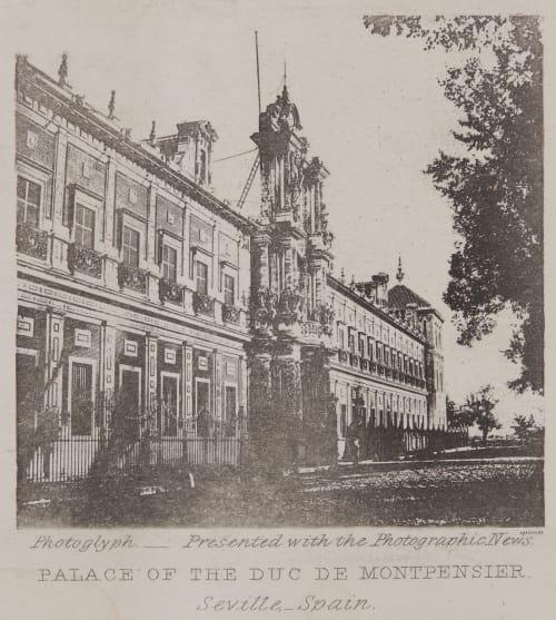 Palace of the Duc de Montpensier Talbot, William Henry Fox  (British, 1800-1877)