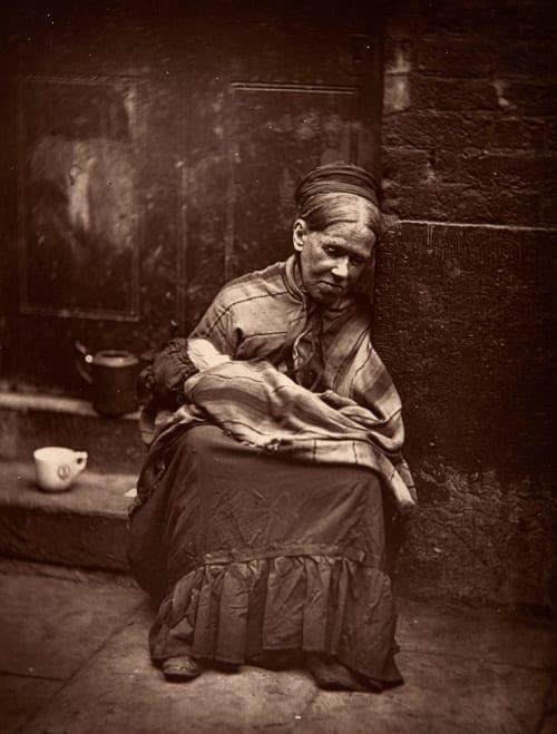 "The ""Crawlers"" Thomson, John 1837-1921  (b.British)"