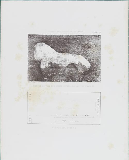 Didyme pl. 1 Restes de L'un Situés en Tête de L'avenue Tremaux, Pierre  (French, 1818-1895)