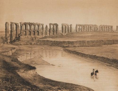 Vue De L'Aqueduc de Carthage Tremaux, Pierre  (French, 1818-1895)