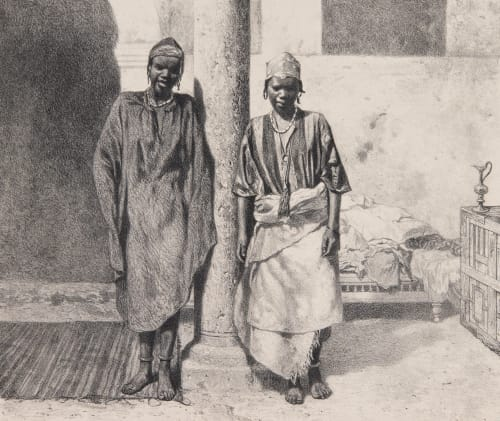 Pl. 41 Esclaves du Soudan Occidental Tremaux, Pierre  (French, 1818-1895)