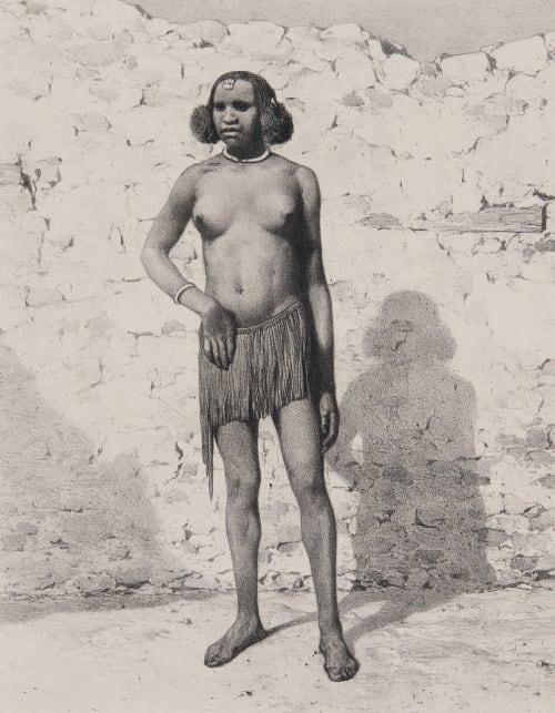 Pl. 23 Femme de Race Croisée du Fa-Zoglo Tremaux, Pierre  (French, 1818-1895)