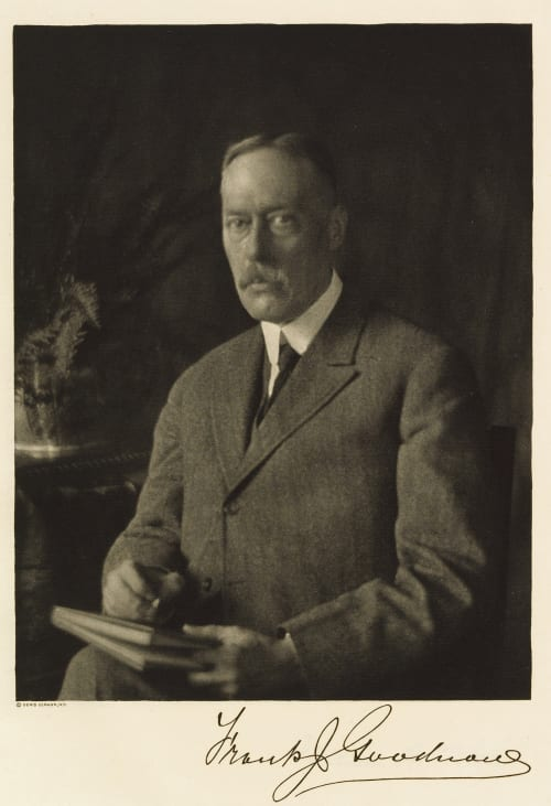 Frank Johnson Goodnow Ulmann, Doris  (American, 1882-1934)