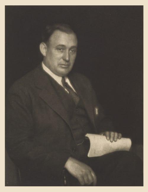 XXIX Arthur W. Page, Editor The World's Work Ulmann, Doris  (American, 1882-1934)
