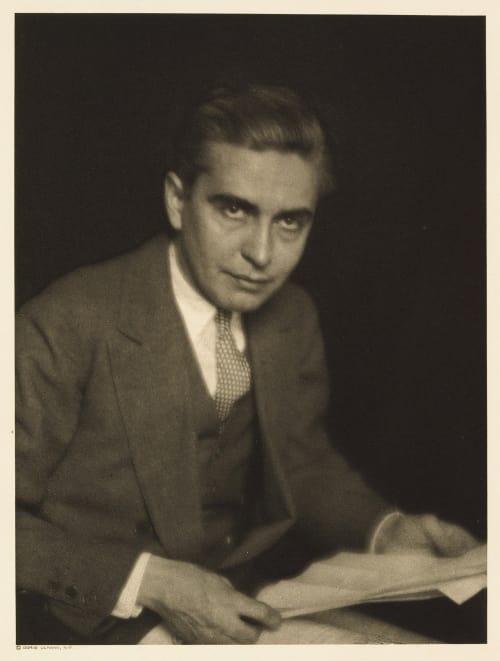 XXXII Henry Blackman Sell, Editor Harper's Bazar Ulmann, Doris  (American, 1882-1934)