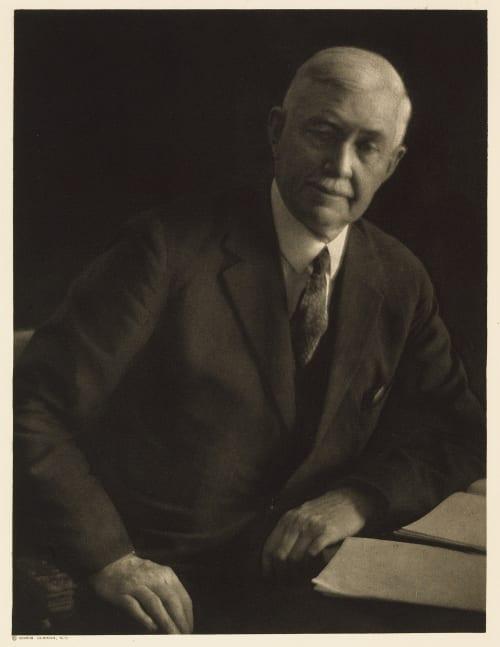 XXXIII Albert Shaw, Editor Review of Reviews Ulmann, Doris  (American, 1882-1934)