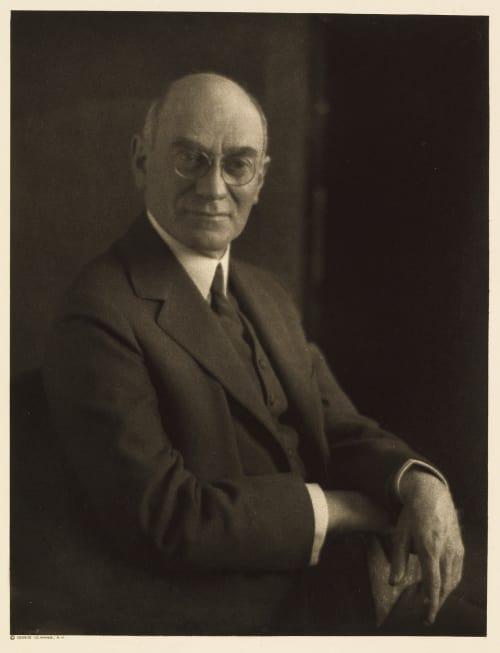 XXXV Samuel Strauss, Editor The Villager Ulmann, Doris  (American, 1882-1934)