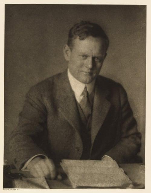 XXXVI Reginald T. Townsend, Editor Country Life Ulmann, Doris  (American, 1882-1934)
