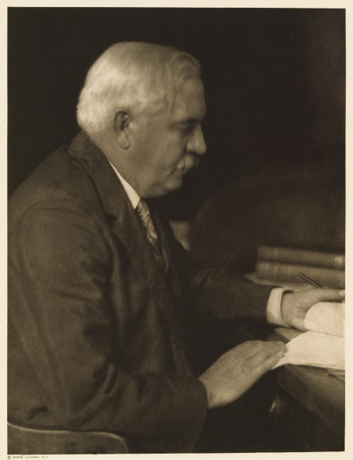 XXXVII Arthue T. Vance, Editor Pictorial Review Ulmann, Doris  (American, 1882-1934)