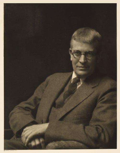 XXXVIII Carl Van Doren, Editor The Century Ulmann, Doris  (American, 1882-1934)