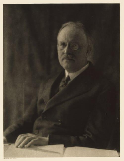 XXXIX Oswald Garrison Villard, Editor The Nation Ulmann, Doris  (American, 1882-1934)
