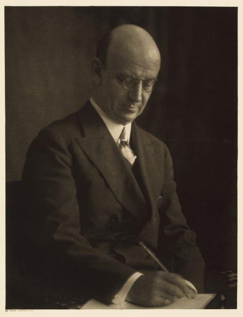 XLI Thomas B. Wells, Editor Harper's Magazine Ulmann, Doris  (American, 1882-1934)