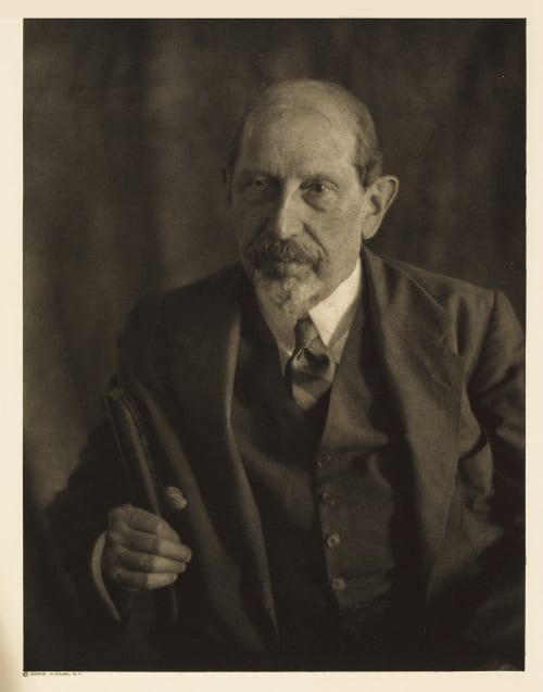 IV Robert Bridges, Editor Scribner's Ulmann, Doris  (American, 1882-1934)