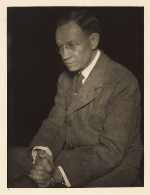 VIII Herbert Croly, Editor The New Republic Ulmann, Doris  (American, 1882-1934)