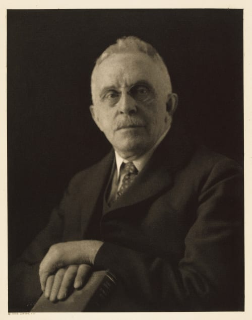 IX Wilbur Cross, Editor The Yale Review Ulmann, Doris  (American, 1882-1934)