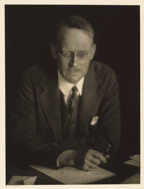 X Merle Crowell, Editor The Amercian Magazine Ulmann, Doris  (American, 1882-1934)
