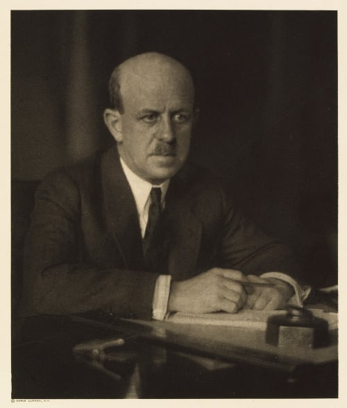 XII Barton W. Currie, Editor The Ladie's Home Journal Ulmann, Doris  (American, 1882-1934)