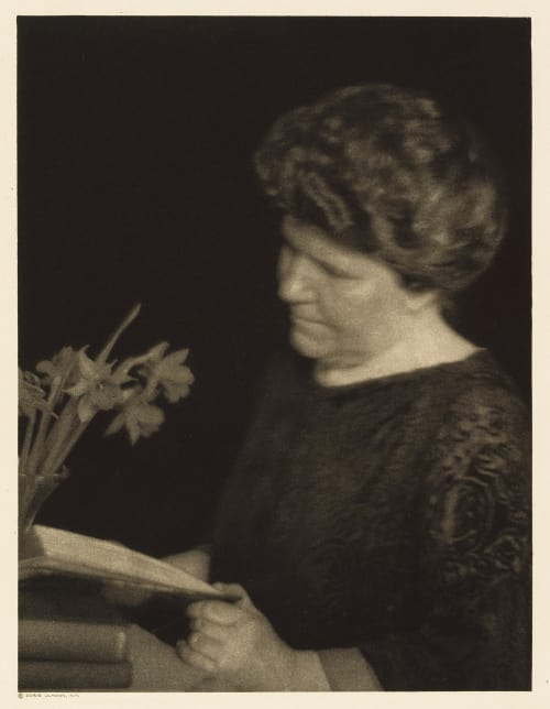 XIII Elizabeth Cutting, Editor North American Review Ulmann, Doris  (American, 1882-1934)