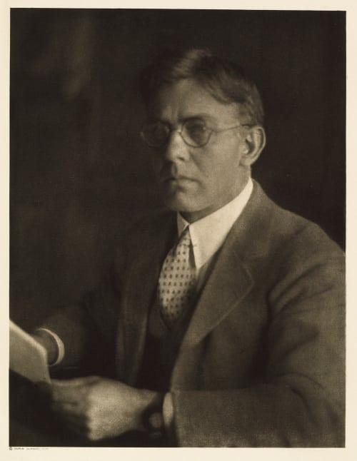 XVII Sewell Haggard, Editor Everybody's Ulmann, Doris  (American, 1882-1934)