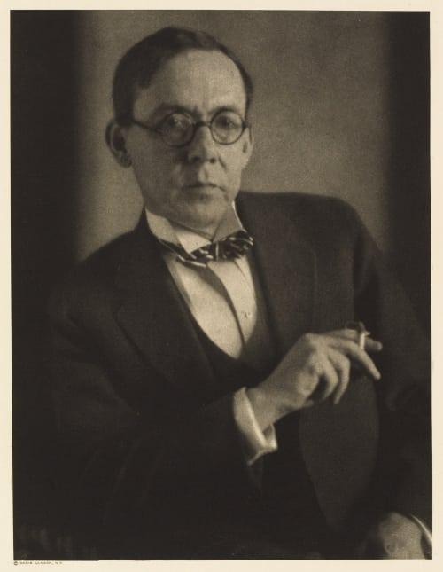 XIX Karl Edwin Harriman, Editor The Red Book Magazine Ulmann, Doris  (American, 1882-1934)