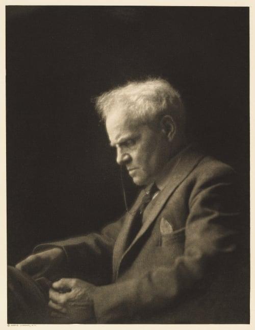XXI Oliver Herford, Editor Life Ulmann, Doris  (American, 1882-1934)