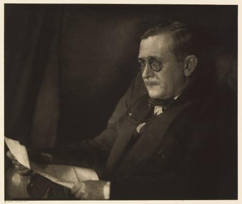 XXIII Ray Long, Editor Cosmopolitan Ulmann, Doris  (American, 1882-1934)