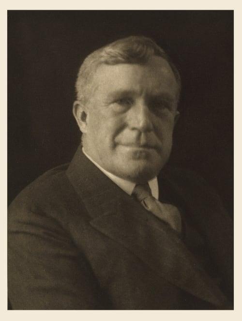XXIV George Horace Lorimer, Editor The Saturday Evening Post Ulmann, Doris  (American, 1882-1934)