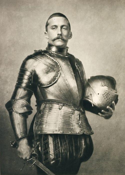 Ein Ritter Burchett, Arthur  (British, 1853-1927)