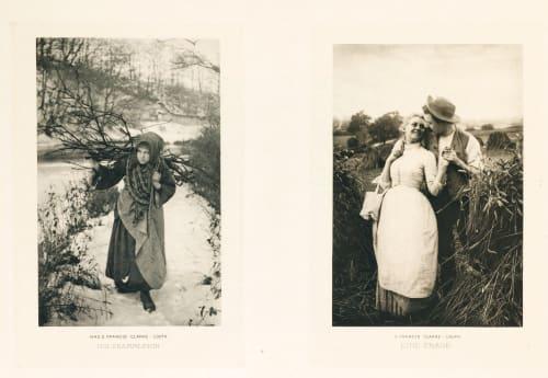 Diptych: Holzfammlerin & Eine Frage Mrs. S.F. Clarke  (British)