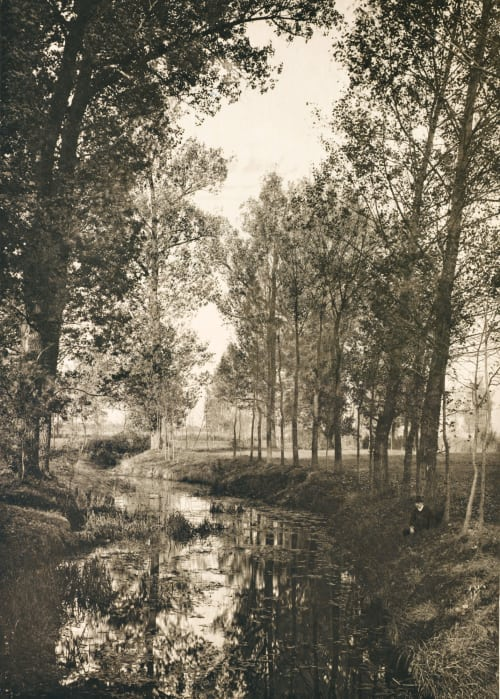 Am alten Canal Liebig, Alfred Baron