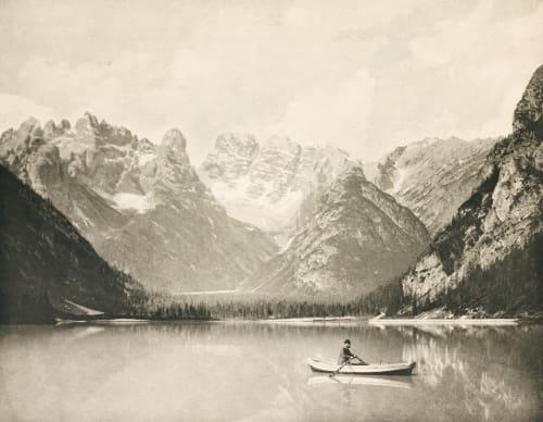 Dürrensee mit dem Monte Cristallo Rothschild, Nathaniel Mayer von  (Vienna, 1836-1905)