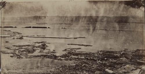 Tyr: Brise-Lames du Port Égyptien Vignes, Louis  (French, 1831-1896)