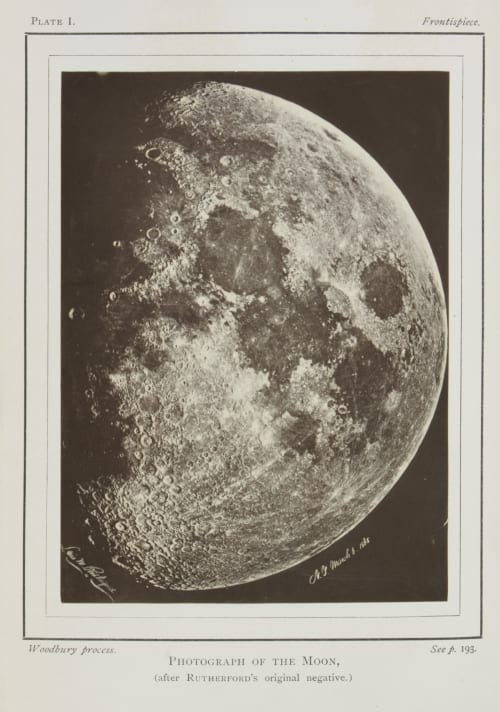 Photograph of the Moon Rutherfurd, Lewis M.  (American)