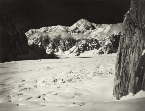 Mount McKinley from the Head of Great Gorge Washburn, Bradford  (American, 1910-2007)
