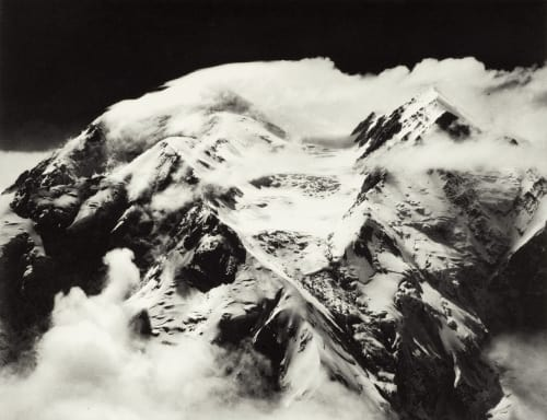 Mount McKinley Windstorm Washburn, Bradford  (American, 1910-2007)