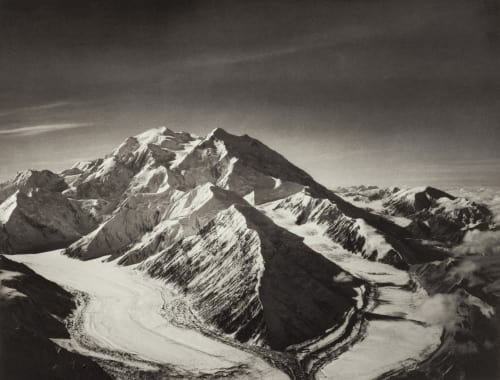 Mount McKinley from North East over Muldrow Glacier Washburn, Bradford  (American, 1910-2007)