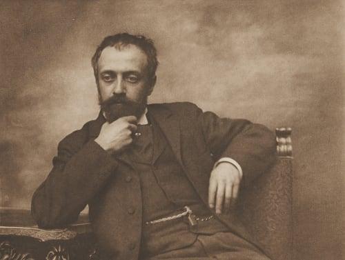 Selbstporträt Obermayer, Dr. R.