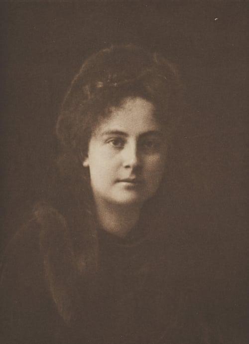 Damenporträt Schoeller, Philipp Ritter von  (Austrian, 1845-1960)
