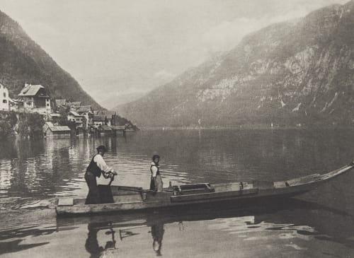Am Hallstätter See Rothschild, Nathaniel Mayer von  (Vienna, 1836-1905)