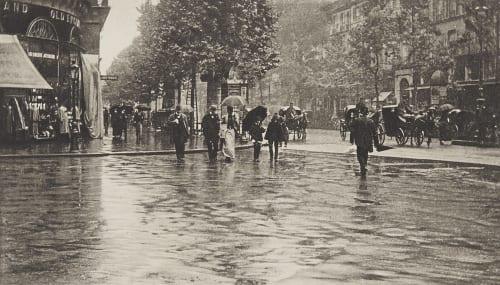 Ein Nasser Tag Stieglitz, Alfred  (American, 1864-1946)