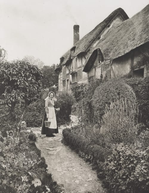 The Hathaway's Cottage Williams, James Leon  (American, 1852-1932)