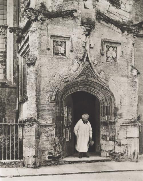 Porch of the Guild Chapel Williams, James Leon  (American, 1852-1932)