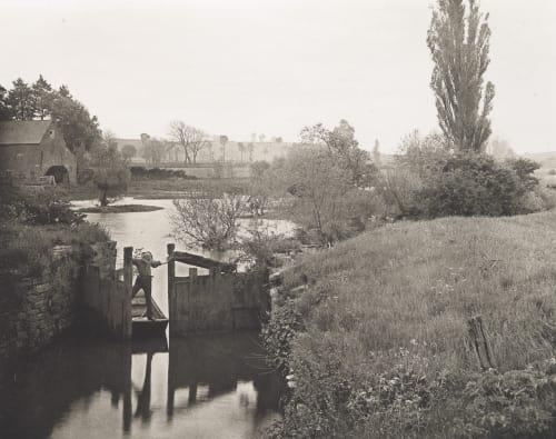 Old Lock at Welford Williams, James Leon  (American, 1852-1932)