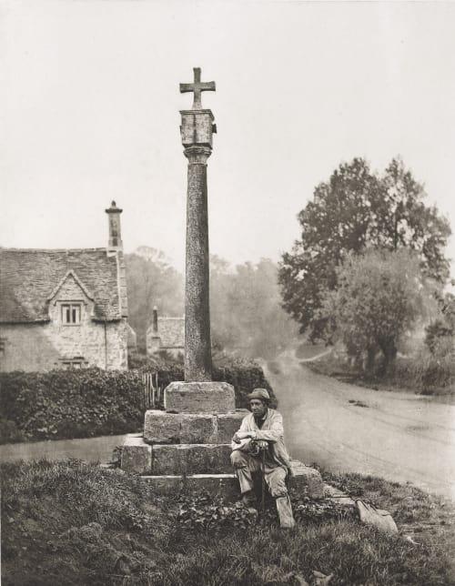 A Wayside Cross Williams, James Leon  (American, 1852-1932)
