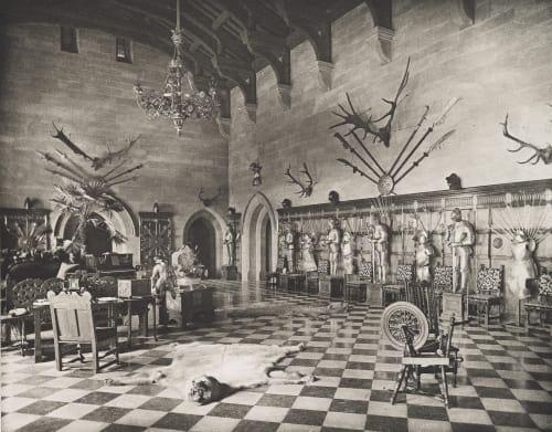 The Great Hall-Warwick Williams, James Leon  (American, 1852-1932)