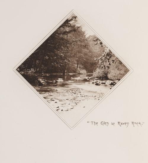 The Glen at Raven Rock Williams, James Leon  (American, 1852-1932)