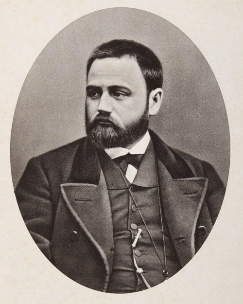 Emile Zola Carjat, Etienne 1828-1906  (b.French)