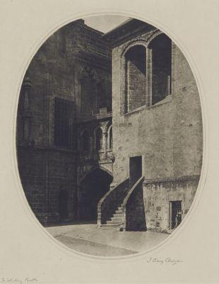 In Sterling Castle – A Castle Courtyard